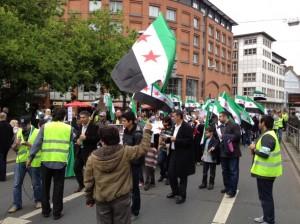 Demo. zur Unterstützung der Revolution in Syrien in Bremen - 16.06.2012