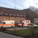 Empfang der syrischen Verletzten im Bundeswehrkrankenhaus Westerstede.